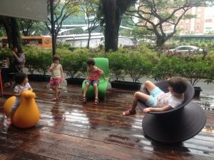 Kith Cafe playground